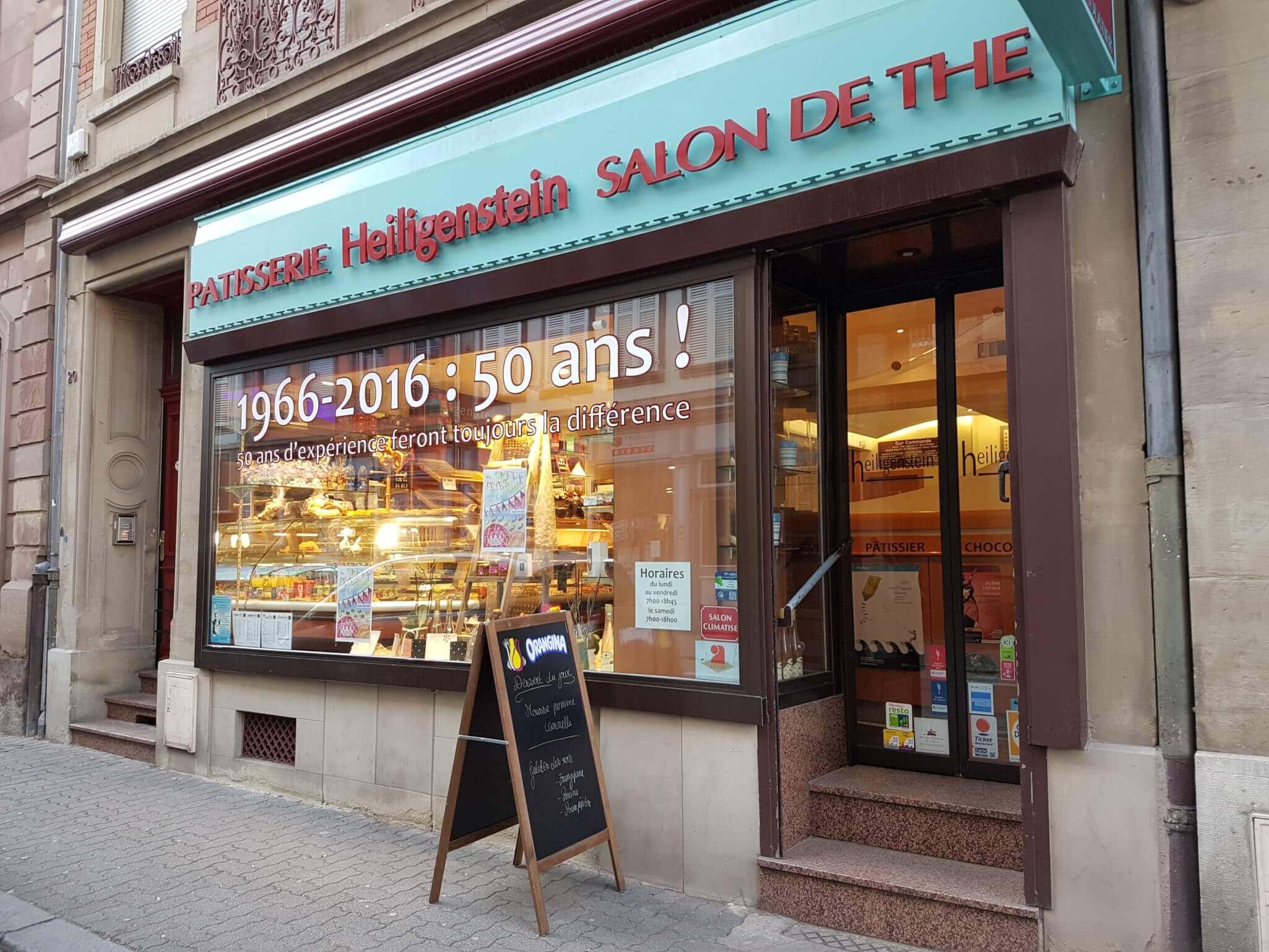 Salon de thé & pâtisserie à Strasbourg - Pâtisserie Heiligenstein